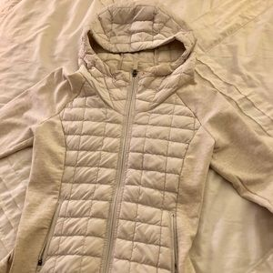 North Face Cream Jacket | Size XS